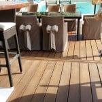 Traitement d'une terrasse en bois à cannes